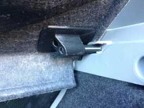 雪佛兰轿车后备箱铰链零部件 3D模型