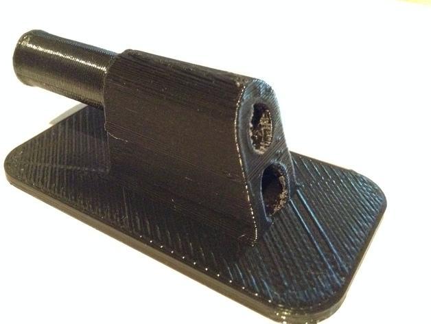 雪佛兰轿车后备箱铰链零部件 3D模型  图6
