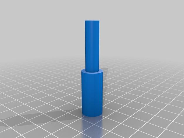 雪佛兰轿车后备箱铰链零部件 3D模型  图4
