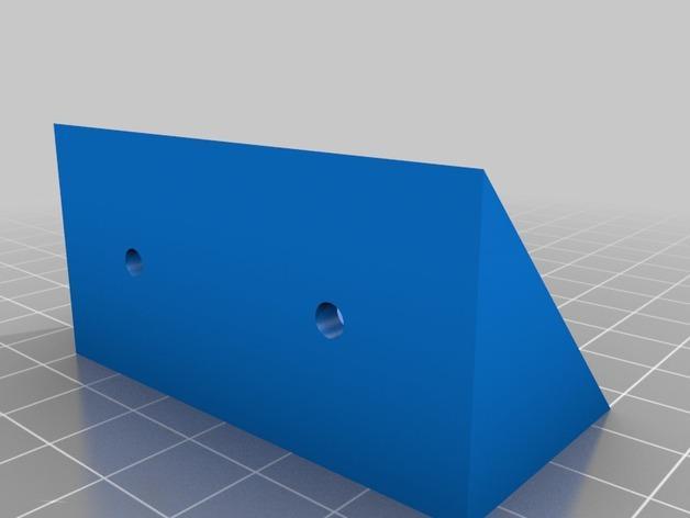 角形托座  3D模型  图3