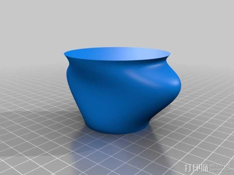 储物花瓶 3D模型  图2