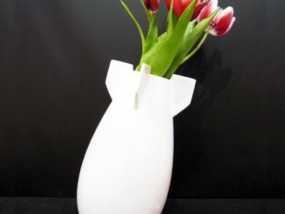 炸弹花瓶 3D模型