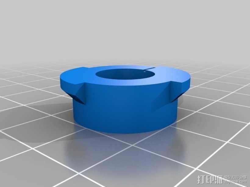天花板挂钩 3D模型  图3