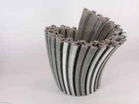 Makerbeam花瓶 3D模型