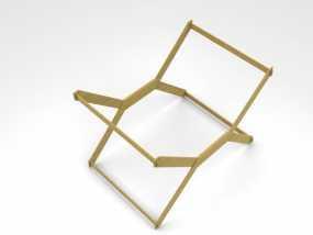 迷你A3纸纸架 3D模型