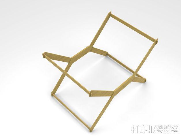 迷你A3纸纸架 3D模型  图6
