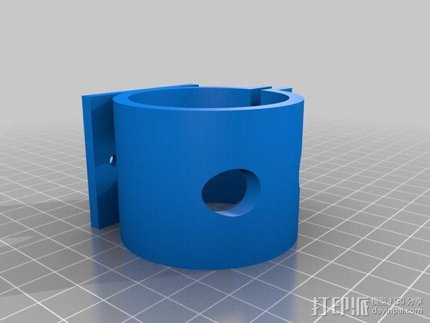 花园洒水装置支架 3D模型  图2
