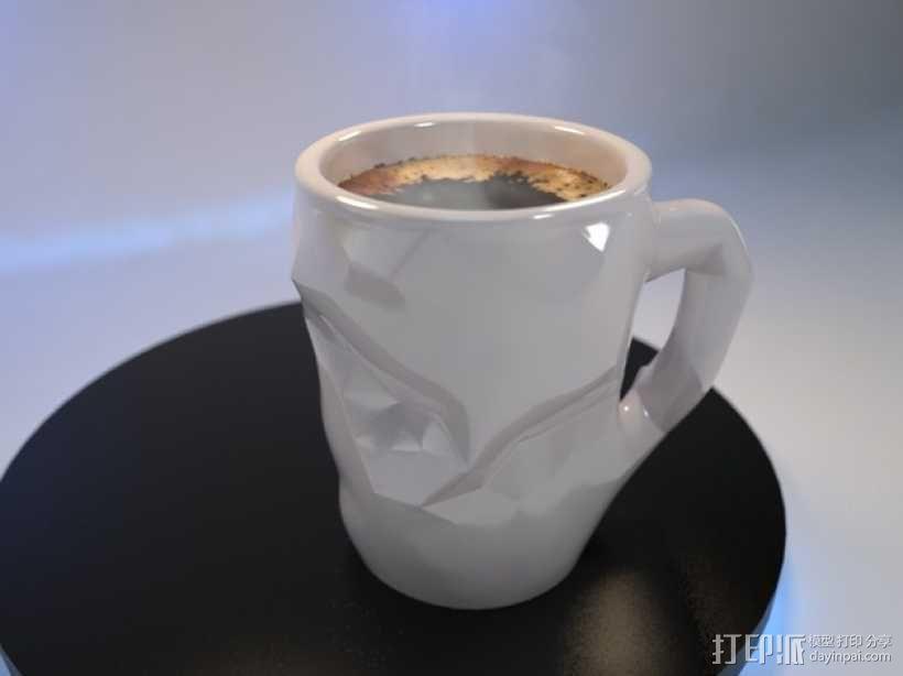 个性化咖啡杯 3D模型  图1
