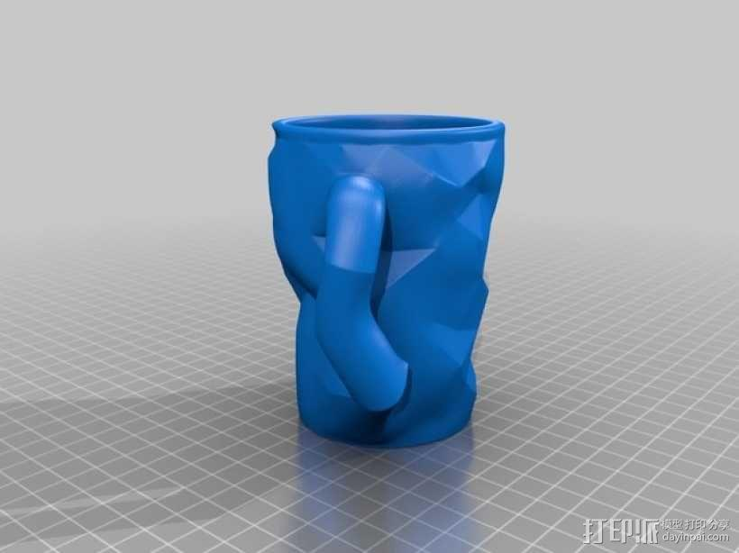 个性化咖啡杯 3D模型  图2