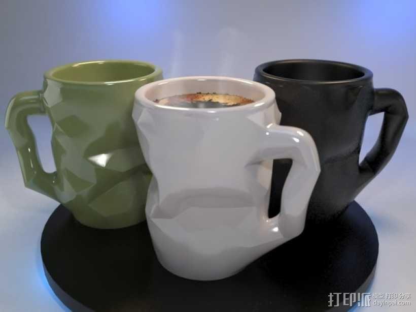个性化咖啡杯 3D模型  图4
