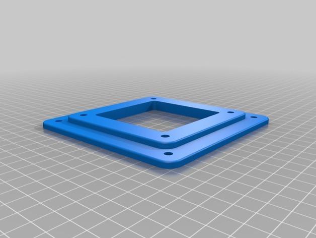 显示器底座配适器 3D模型  图2