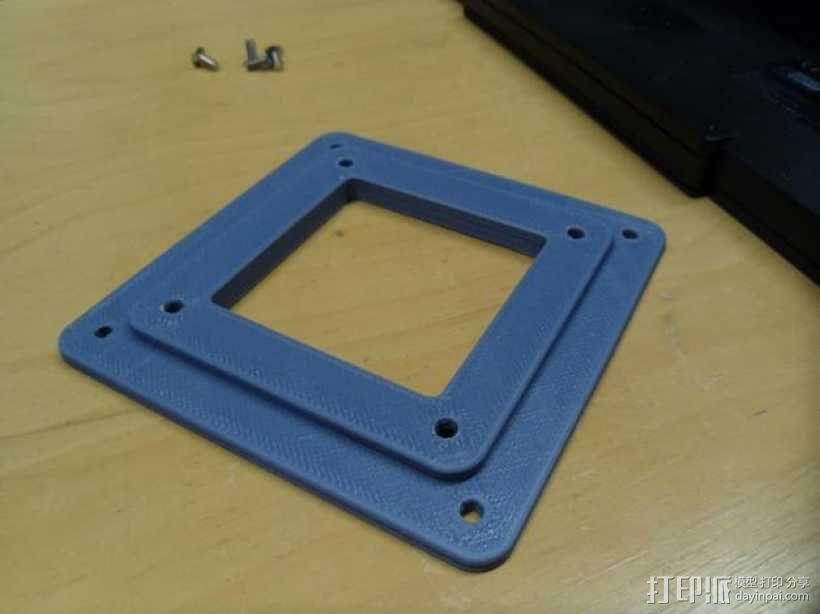 显示器底座配适器 3D模型  图5