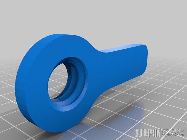 便携式杯架 3D模型  图3
