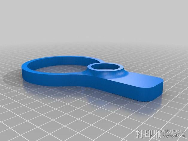 便携式杯架 3D模型  图2