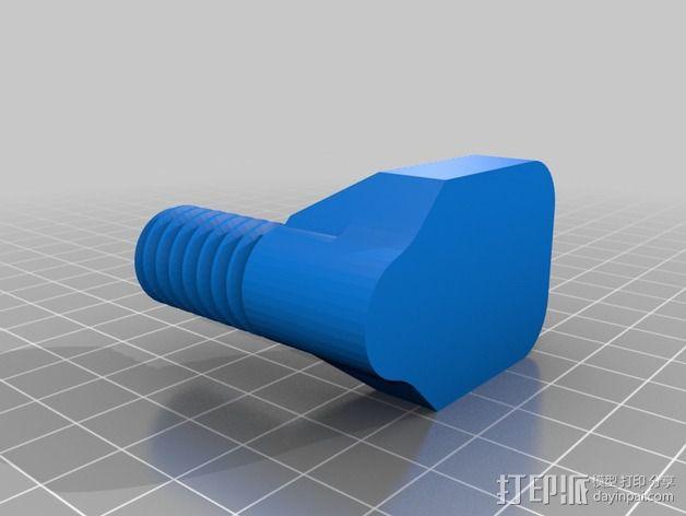便携式杯架 3D模型  图4