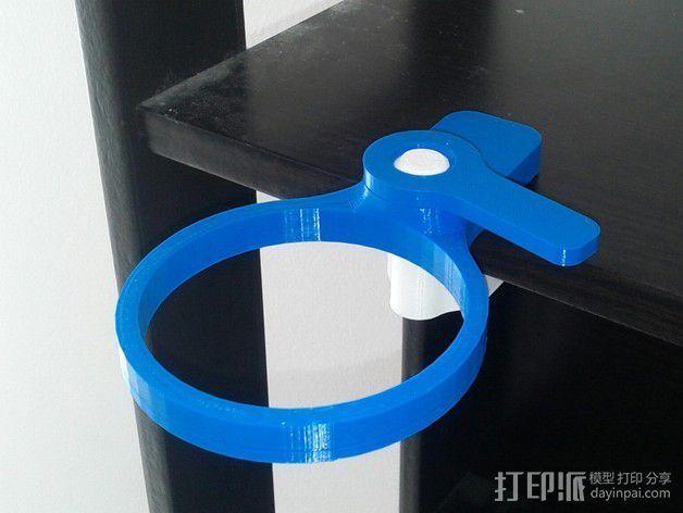 便携式杯架 3D模型  图5