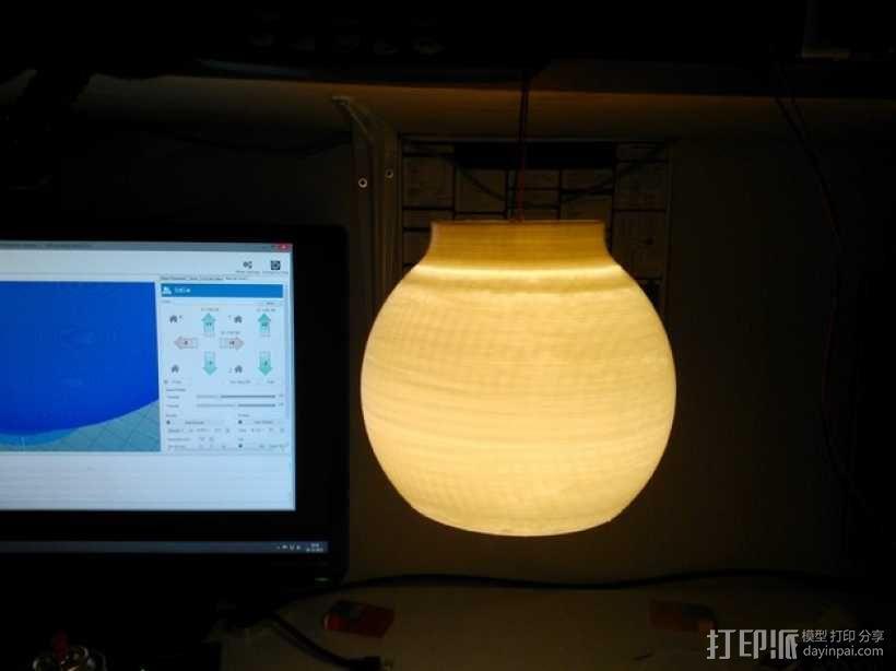 荷兰古典灯罩 3D模型  图1