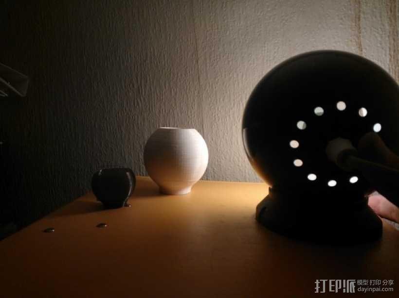 荷兰古典灯罩 3D模型  图4