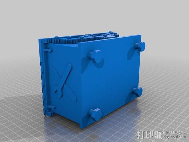 变速齿轮箱 3D模型  图2