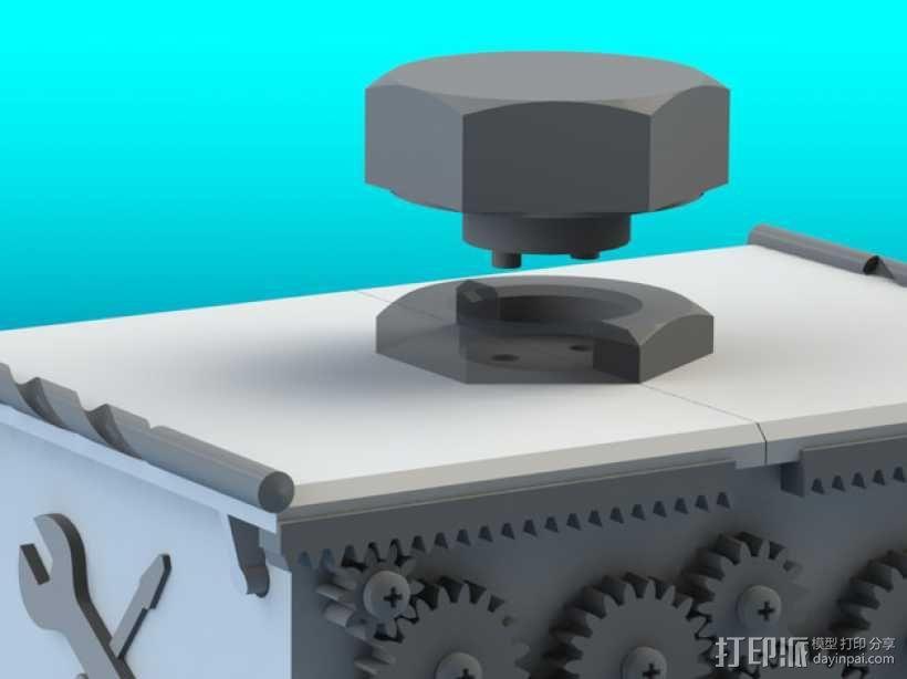 变速齿轮箱 3D模型  图3