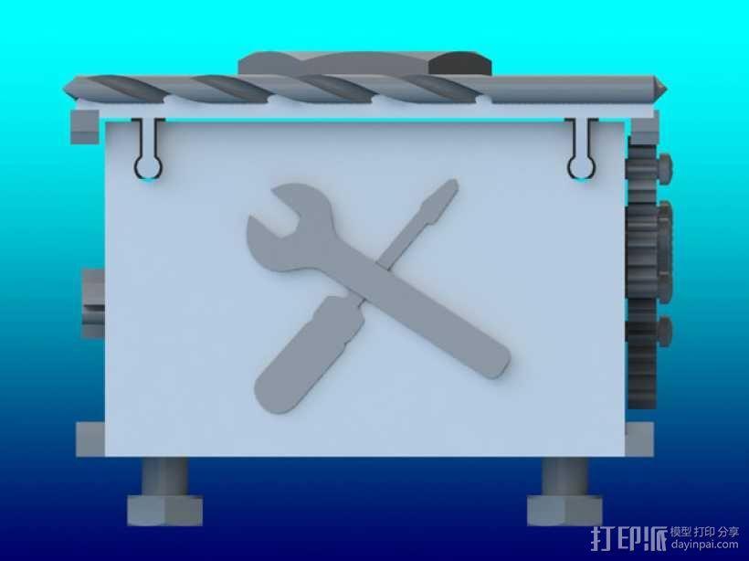 变速齿轮箱 3D模型  图5