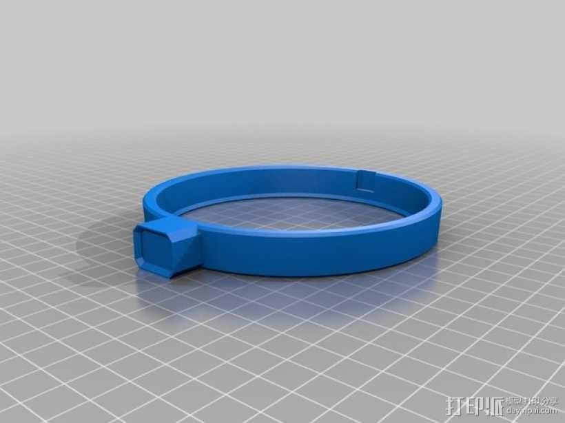 大尺寸旅行杯把手 3D模型  图4