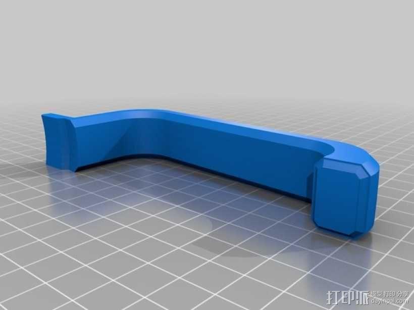 大尺寸旅行杯把手 3D模型  图3