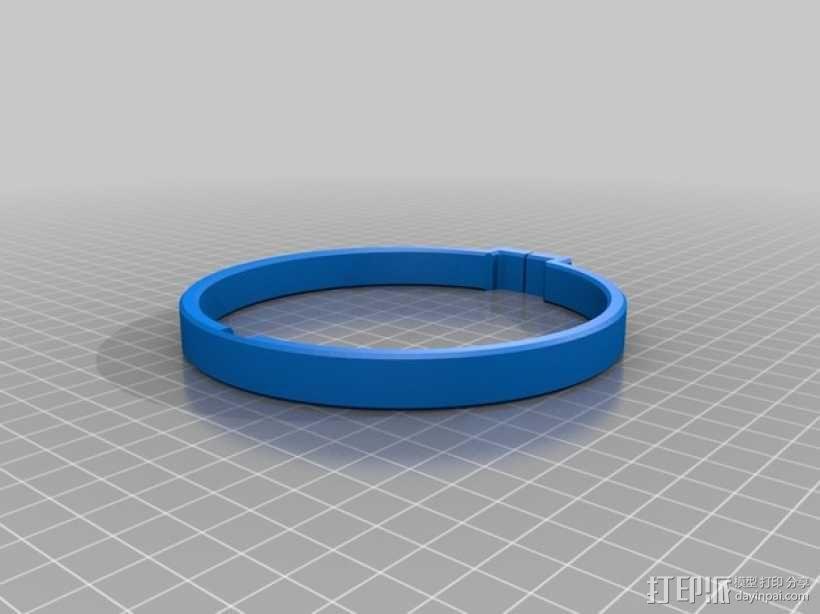 大尺寸旅行杯把手 3D模型  图5