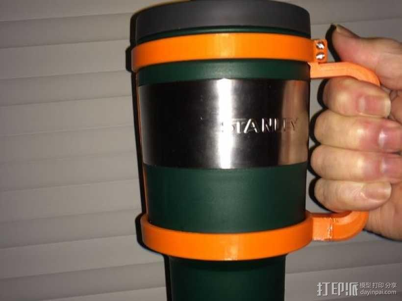 大尺寸旅行杯把手 3D模型  图7