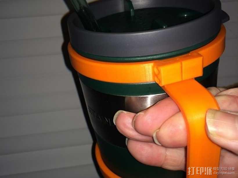 大尺寸旅行杯把手 3D模型  图6