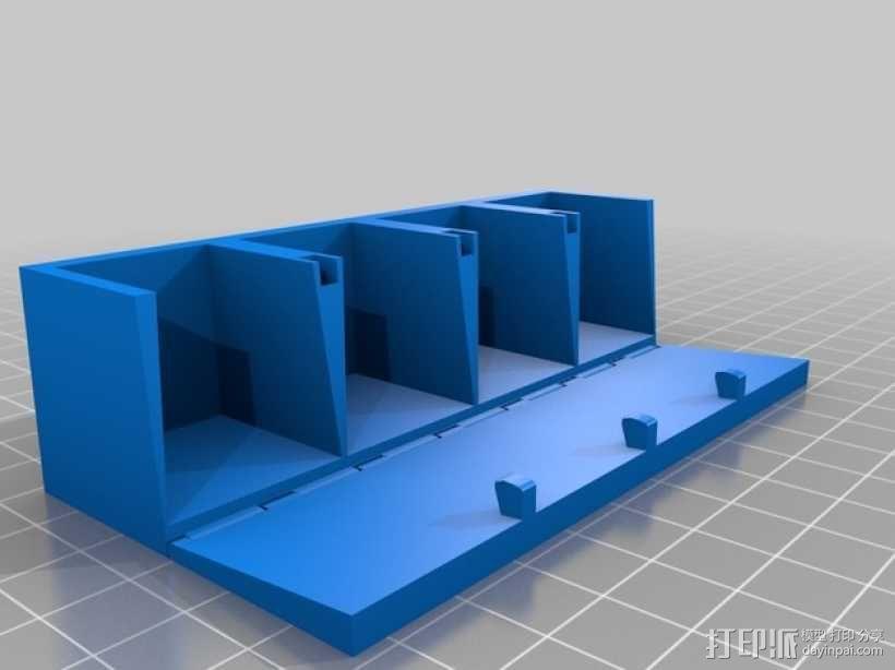 香料架 3D模型  图3