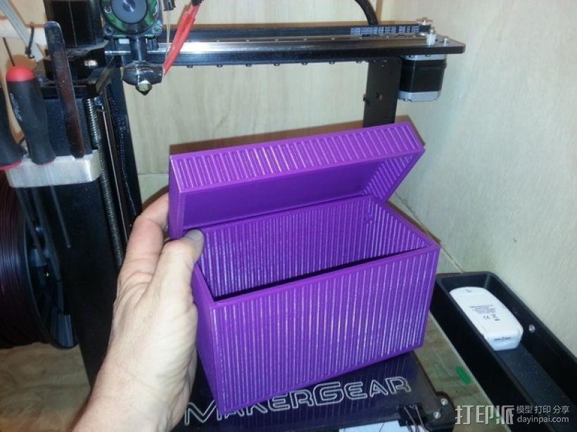 迷你方形小盒 3D模型  图1