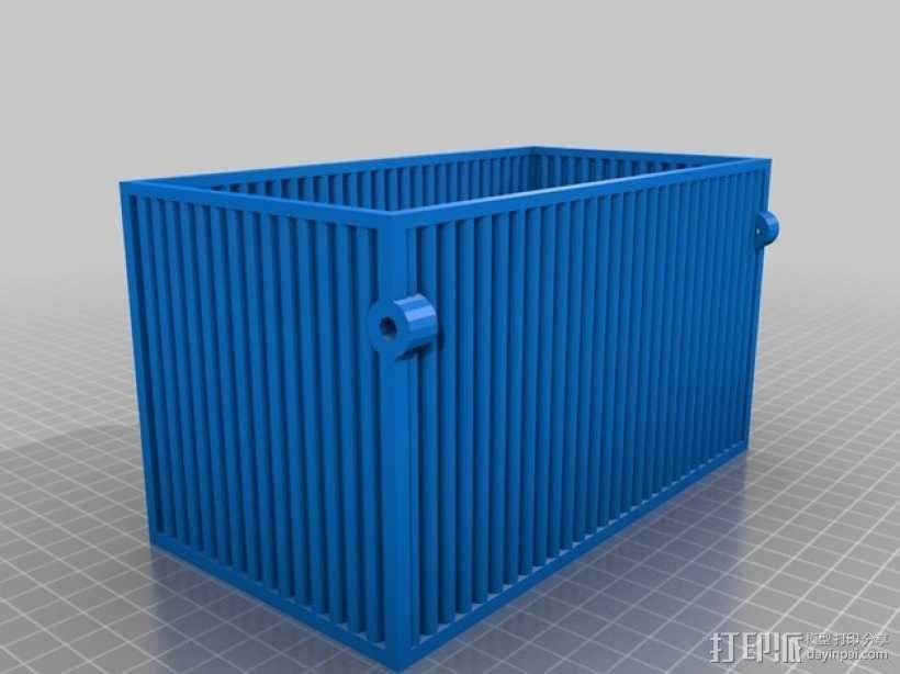 迷你方形小盒 3D模型  图3