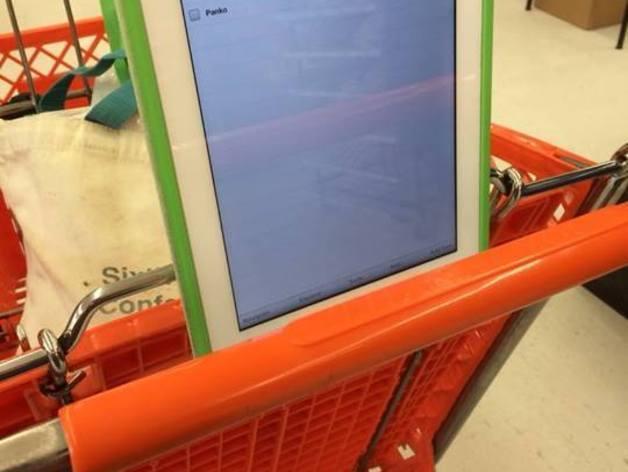 购物车平板电脑支架 3D模型  图2