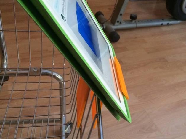 购物车平板电脑支架 3D模型  图3