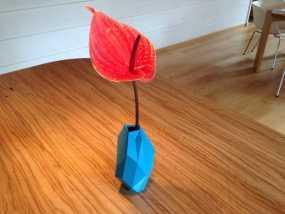 低面数花瓶 3D模型