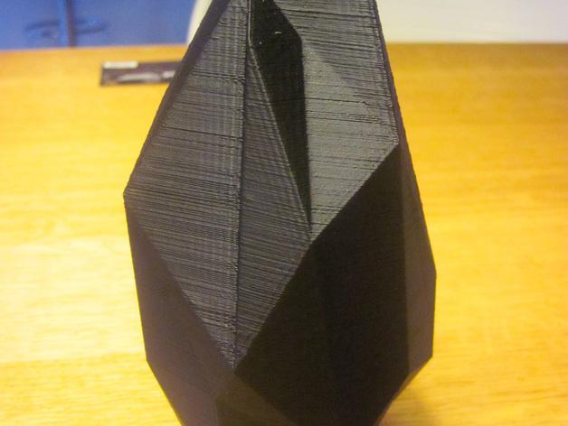 低面数花瓶 3D模型  图4