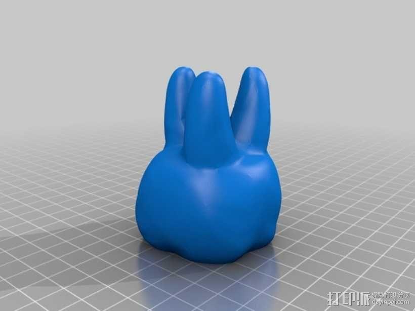 个性化牙刷架 3D模型  图2