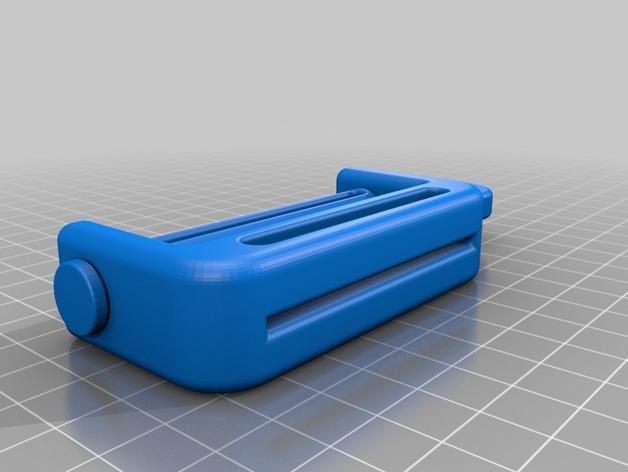 牙膏挤出装置 3D模型  图2