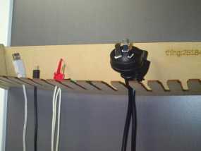 定制化激光切割电缆支架 3D模型