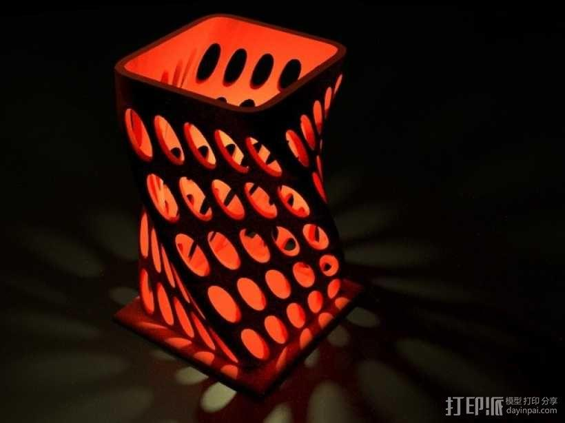 个性化烛台 3D模型  图1