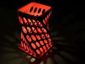 个性化烛台 3D模型