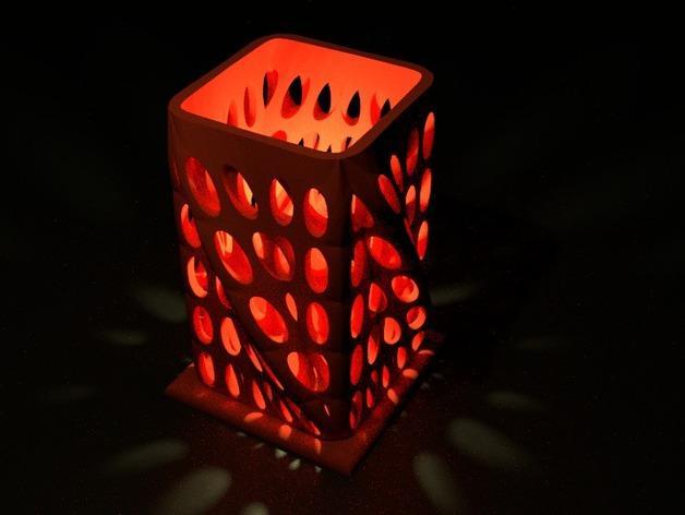 个性化烛台 3D模型  图3