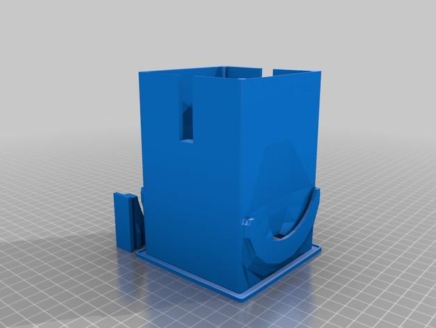 咖啡软包收纳盒 3D模型  图3