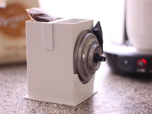 咖啡软包收纳盒 3D模型  图2