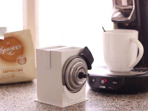 咖啡软包收纳盒 3D模型  图1