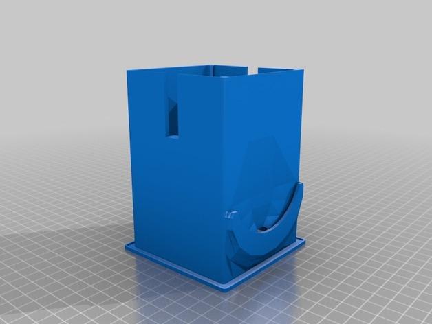 咖啡软包收纳盒 3D模型  图12