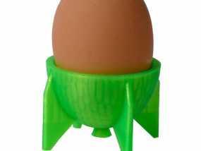 鸡蛋杯 3D模型