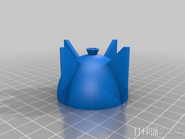 鸡蛋杯 3D模型  图2