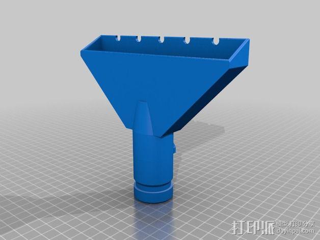 戴森手持式吸尘器吸嘴 3D模型  图2